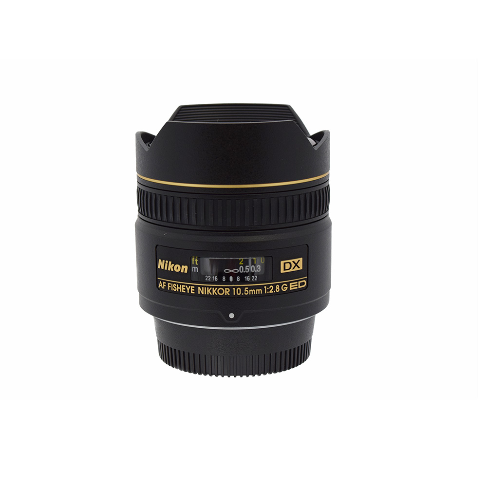 Nikon AF Fisheye Nikkor 10.5 f2.8 G ED DX Lens from Alex Photo