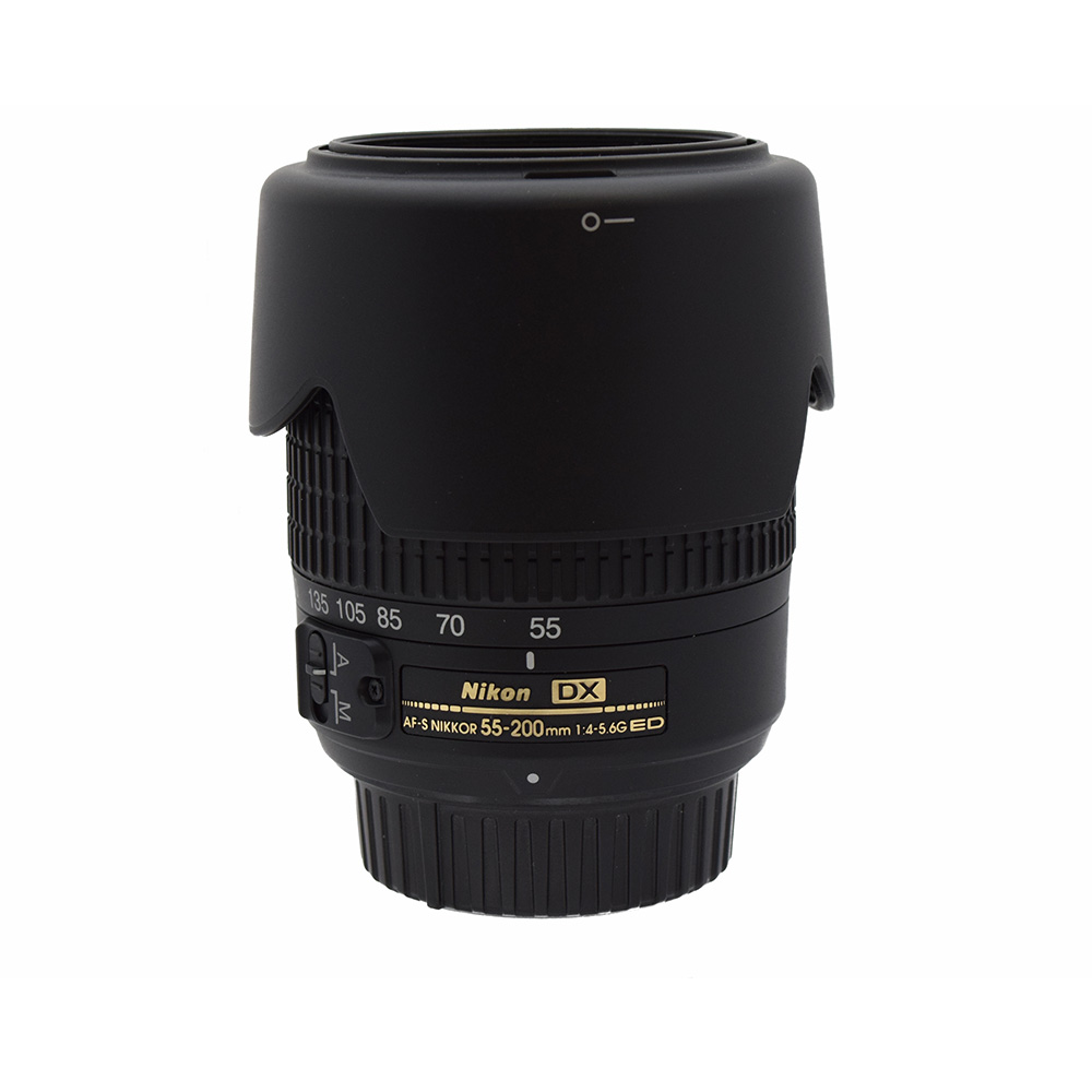 Nikon AFS Nikkor 55~200mmf4~5.6 G ED DX Lens from Alex Photo