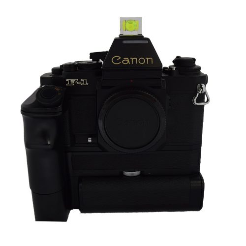Canon F1 with Motor Drive