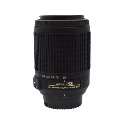 Nikon AFS Nikkor 55~200mm f4~5.6 G ED VR DX Lens from Alex Photo