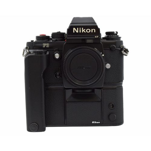 Nikon F3 HP Film Camera with MD4 Motor Drive from Alex Photo