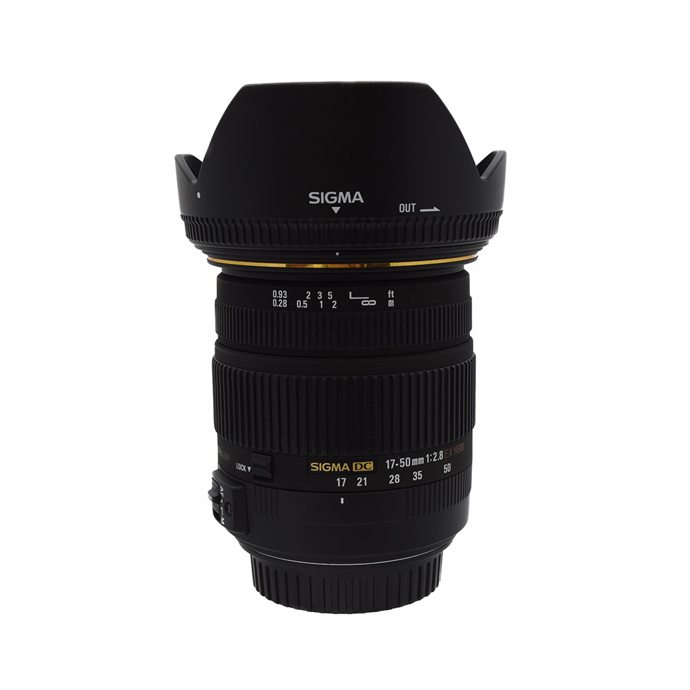 Sigma DC 17~50mm f2.8 EX HSM Lens for Canon from Alex Photo