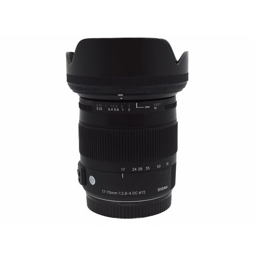Sigma DC 17~70mm f2.8 OS Lens for Canon from Alex Photo