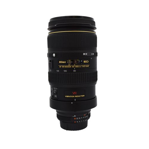 Nikon AF Nikkor 80~400mm f4.5~5.6 D ED VR FX Lens from Alex Photo