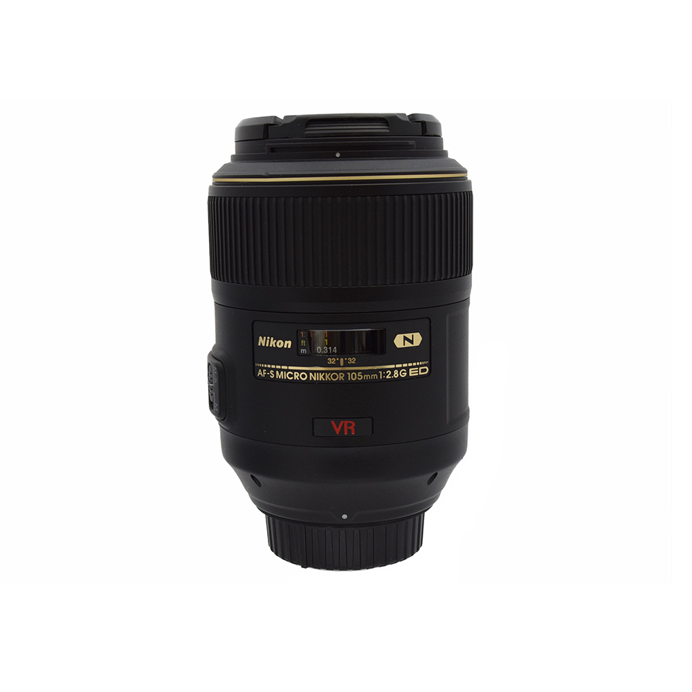 Nikon AFS Micro Nikkor 105mm f2.8 G ED VR FX Lens from Alex Photo